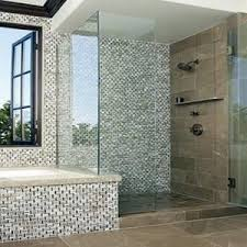 Best The Best Tile Designs For Bathrooms Images On Pinterest - Bathroom designs with mosaic tiles