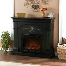 black enamel fireplace insert friday doors corner tv stand