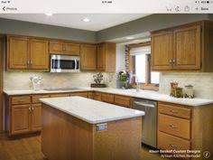 Small Kitchen Painting Ideas 5 Ideas Update Oak Cabinets Without A Drop Of Paint Apron Front