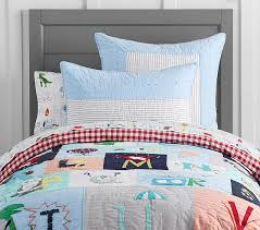 abc quilt pottery barn kids