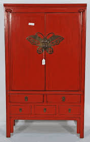 Antique Red Kitchen Cabinets by Antique Asian Furniture Antique Chinese Red Lacquered Wedding