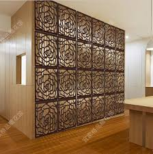 wooden room divider carved high quality style wood panel