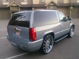 cadillac escalade conversion kit 96 2 door tahoe completely converted to an escalade the chicago