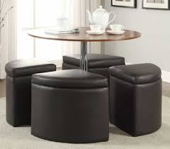 table round coffee table ottoman modern expansive round coffee