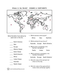 oceans worksheet oceans worksheet blank world map to label