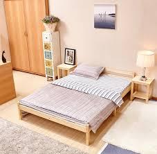 wooden base bed aingoo wooden bed 4 8ft bed frame solid bedstead base