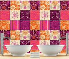 kitchen backsplash tile stickers kitchen splashback indian patchwork tiles stickers tiles