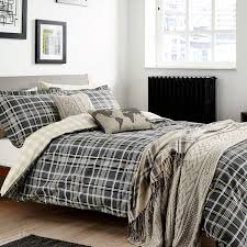 peacock blue loft collection bennet bed linen charcoal bradbeers