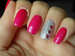 valentines nails u2013 my nail envy cnd additives glitter sparkly