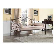 metal frame twin size daybed white day bed contemporary living