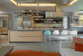 kitchen style eclectic kitchen stainless steel countertop