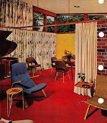 better homes interior design 51 best mid century interior decorating scans from 50s