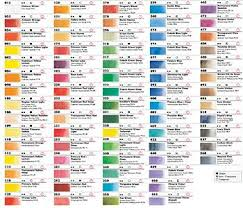 23 best printed colour charts images on pinterest artist