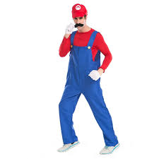 Mario Luigi Halloween Costume Halloween Costume Male Supermario Mario Luigi Brothers