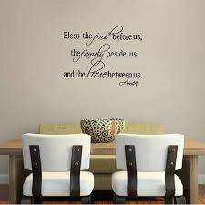 wall sticker quote religi promotion shop for promotional wall christian wall stickers bless the food family love quotes wall decals religious art decor free shipping