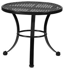 Make Outdoor End Table by Outdoor End Tables Iron Wood