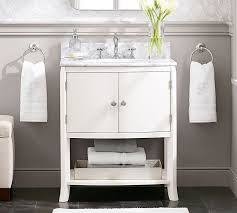 pottery barn bathrooms ideas pottery barn bathroom vanities single mini sink console like