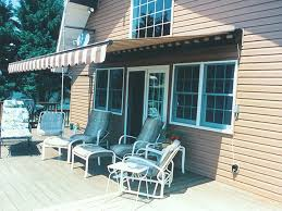 Striped Awning Retractable Awning Waterproof Pvc Retractable Awning Pergola