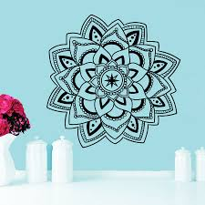 Wall Decals Mandala Ornament Indian by Online Shop Removable Art Curved Wall Decals Mandala Yoga Ornament