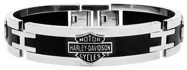 cuff bracelet black images Davidson mens h d black steel cuff bracelet jpg