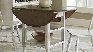 Drop Leaf Breakfast Table Leaf Kitchen Table