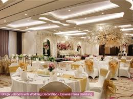 wedding package by crowne plaza bandung bridestory com