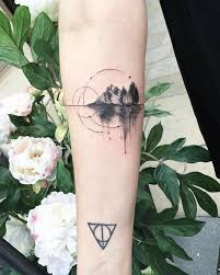 best 25 landscape tattoo ideas on pinterest mountain tattoos