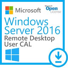 microsoft windows server 2016 remote user cal license