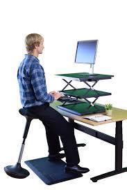 best stool for standing desk u0026 standing desk varichair down
