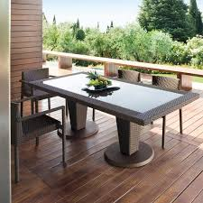 patio dinning table st tropez outdoor wicker dining table and chairs modern patio