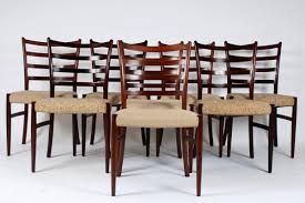 chair model 4 rosewood dining table by bendt winge for kleppes