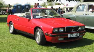 red maserati sedan file maserati biturbo cabriolet aka spyder first registered