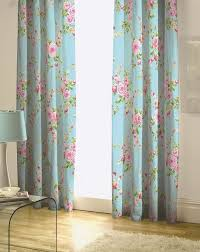retro floral curtains decor mellanie design