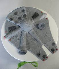wars edible image millennium falcon cake topper wars cake topper birthday