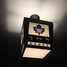 Hockey Scoreboard Light Fixture Toronto Maple Leafs Bedroom Light Glif Org