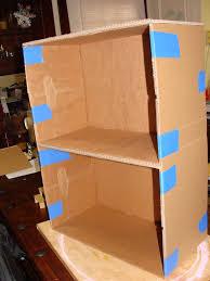 home design diy cardboard dollhouse furniture library kitchen