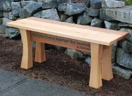 cedar garden bench canadian woodworking magazine