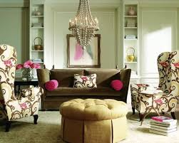 Pink Living Room Chair Living Room Fair Image Of Living Room Decoration Using Eclectic