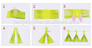 background decoration for birthday party at home paper tassel garland decoration for photo shoot background photo