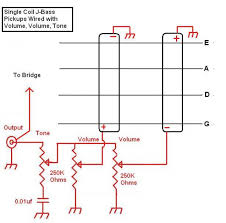 wiring diagram for two pickup bass guitar u2013 readingrat net