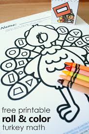 free printable thanksgiving turkey shape matching activity