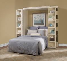 folding bookcase in bedroom traditional with bookshelf murphy bed