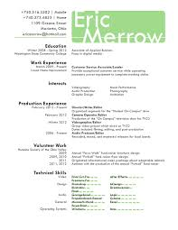 Music Producer Resume Examples by Download Videographer Resume Haadyaooverbayresort Com