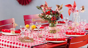 decoration table anniversaire 80 ans table guinguette 5 idées de déco super faciles table