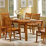 Farmhouse Table And Chairs For Sale Amazon Com Farmhouse Tables Kitchen U0026 Dining Room Furniture