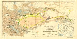 Central Asia Map by Central Asia U2013after 1900 Mcadd Pahar