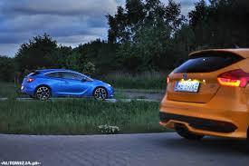 opel astra opc 2015 ford focus st vs opel astra opc porównanie autowizja pl