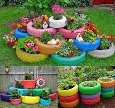 Eco Friendly Garden Ideas 5 Diy Eco Friendly Garden Recycling Projects 3 Tractor Tires