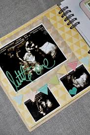sonogram photo album pregnancy scrapbook mini album kraft gold teal blue aqua green
