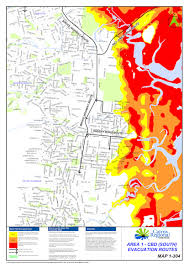 Flood Map Cairns Evacuation Flood Maps Getting The Information Before A